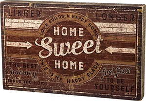 Primitives by Kathy Box Sign - Home Sweet Home