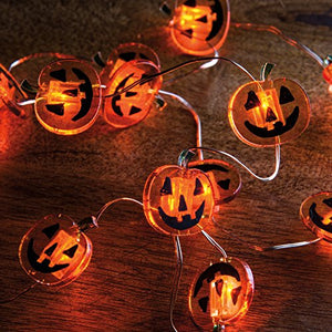 Primitives By Kathy Jack-O - Wire Light