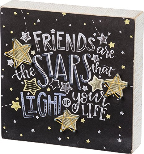 Primitives By Kathy, String Art - FRIENDS are the STARS that LIGHT up your LIFE