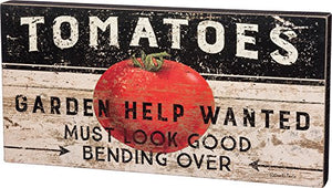 Primitives by Kathy Tomatoes Box Sign