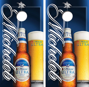 Michelob Ultra Beer Design UV Direct Print Cornhole