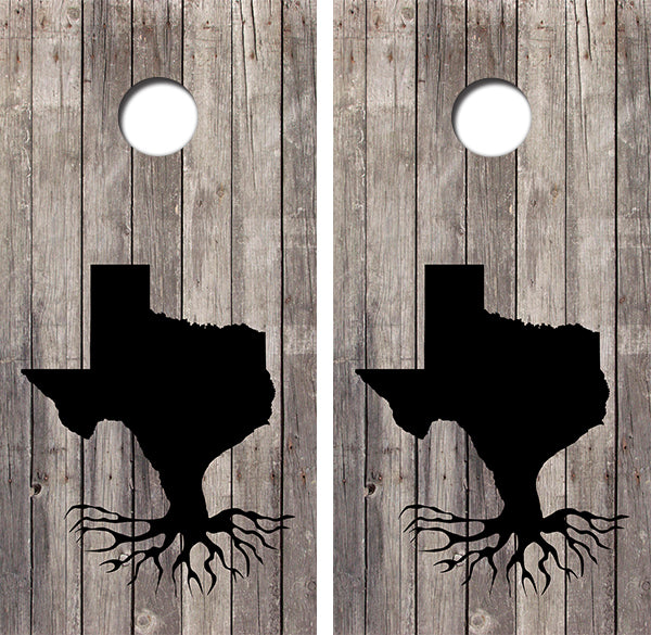 Texas Roots Design UV Direct Print Cornhole