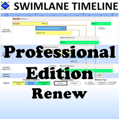 Swimlane Timeline Professional Edition Renewal (2 Add'l Years)