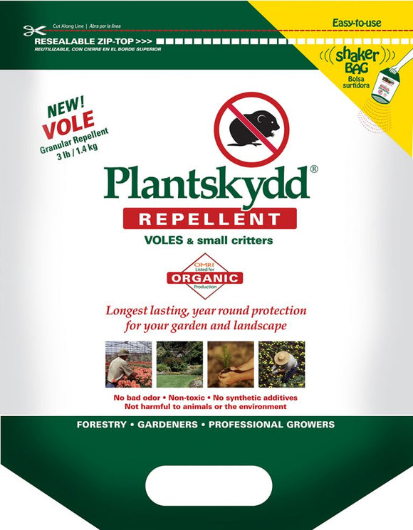 Plantskydd Vole & Animal Repellent- 3 Lb Shaker Bag