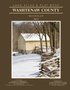 Washtenaw County 2021 Land Atlas & Plat Books