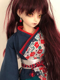 Flowers at Sea BJD Wa-Loli Outfit