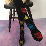 Monster Mash BJD Socks