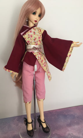 Sunshine in Bloom BJD Wa-Loli Outfit