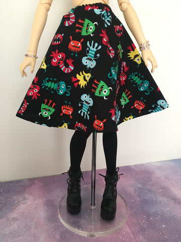 Ahhh! Monsters! BJD Skirt