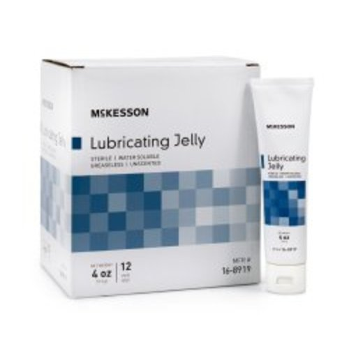 McKesson Lubricating Jelly, 72/CS
