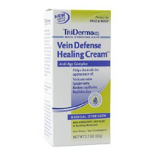 TriDerma® MD Vein Defense™ Moisturizer 2.2 oz. Tube, 1/EA
