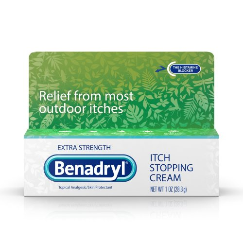Benadryl® Itch Relief Cream, Extra Strength, 1/EA