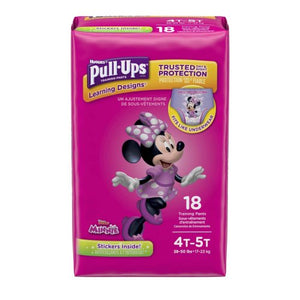 Pull-Ups® Learning Designs® Training Pants for Girls, 18/PK