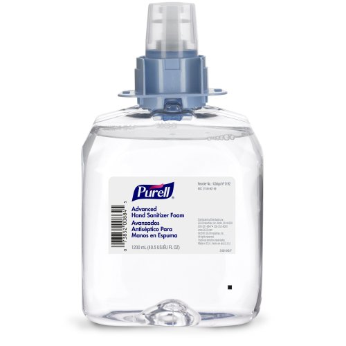 Purell® Advanced Foaming Hand Sanitizer Dispenser Refill Bottle, 3/CS