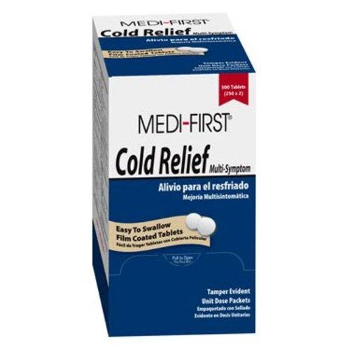 Medi-First® Cold Relief, 250/BX