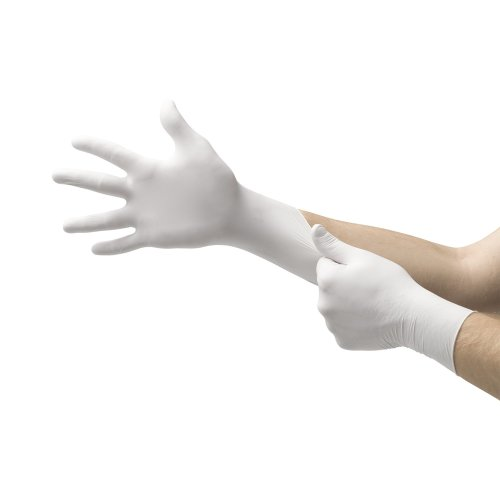 Ansell Micro-Touch® Plus Exam Glove, X-Large, Ivory, 9.5 Inch Length, 150/BX
