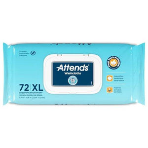 Attends® Personal Scented Wipe, 864/CS