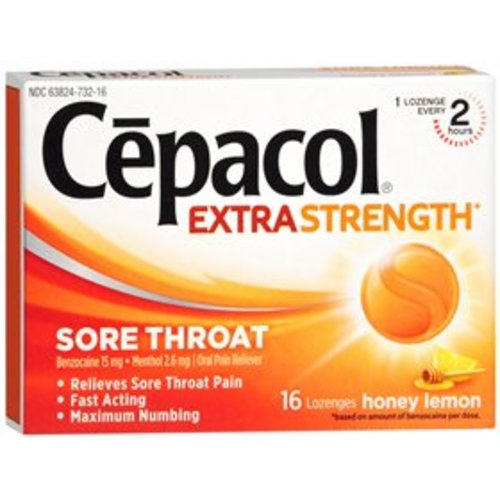 Cepacol® Sore Throat Relief, 1/BX
