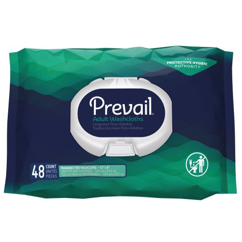 Prevail® Personal Wipe Unscented Soft Pack, 576/CS