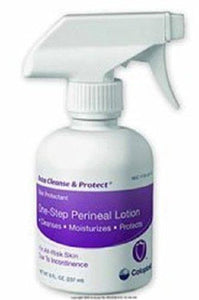 Coloplast Baza® Cleanse and Protect® Perineal Wash Unscented Pump Bottle, 12/CS