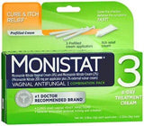 Monistat® Vaginal Antifungal, 3/BX