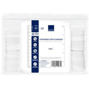 Abena® Nonsterile 1-Ply Conforming Bandage Roll, 2 Inch x 4.1 Yard, 96/CS