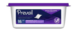 Prevail® Personal Wipe Fresh Scent Tub, 576/CS