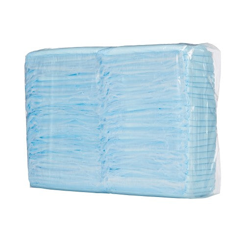 Simplicity™ Disposable Light-Absorbent Underpad, 23 X 36 Inch, Blue, 150/CS