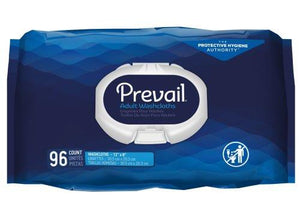 Prevail® Personal Wipe Scented Soft Pack, 96/PK