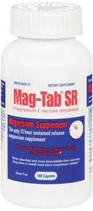 Mag-Tab® Magnesium Supplement, 100/BX