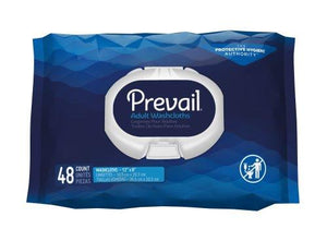 Prevail® Personal Wipe Scented Soft Pack, 48/PK