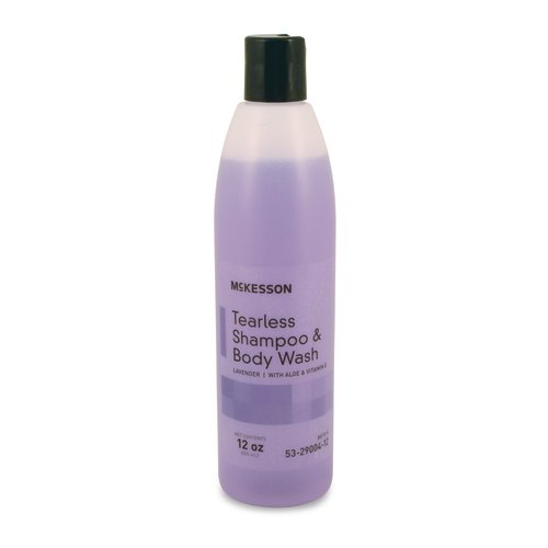 McKesson Tearless Shampoo and Body Wash 12 oz. Squeeze Bottle, 24/CS