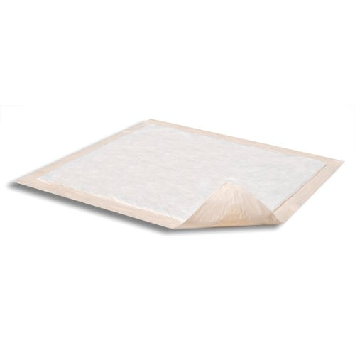 Attends® Care Night Preserver® Disposable Heavy-Absorbent Underpad, 36 X 36 Inch, Peach, 50/CS