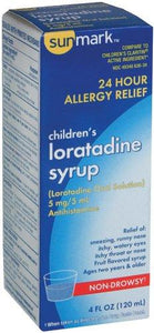 sunmark® Loratadine Syrup for Allergy Relief, 1/BT