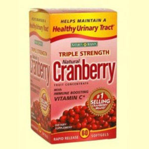 Nature's Bounty Cranberry Supplement, 60/BX