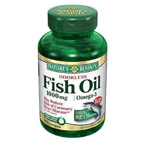 Nature's Bounty Fish Oil Supplement, 1/BT