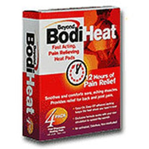 Beyond BodiHeat Pain Relieving Heat Pad, 4/BX