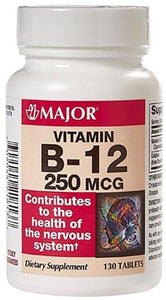 Major® Vitamin B-12 Supplement, 1/BT