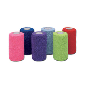 Co-Flex®·LF2 Standard Compression Non-Sterile Cohesive Bandage, 3 Inch x 5 Yard, Multicolor, 24/CS