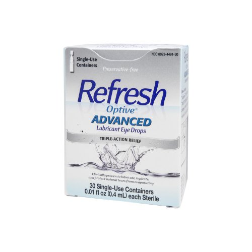 Refresh Optive™ Advanced Lubricant Eye Drops, 30/BX