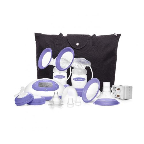 Lansinoh® Signature Pro™ Double Electric Breast Pump Kit, 1/EA