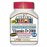 21st Century® Vitamin D Supplement, 1/BT