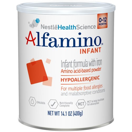 Alfamino™ Amino Acid Based Infant Formula with Iron, Unflavored, 14.1 oz. Can, 1/EA