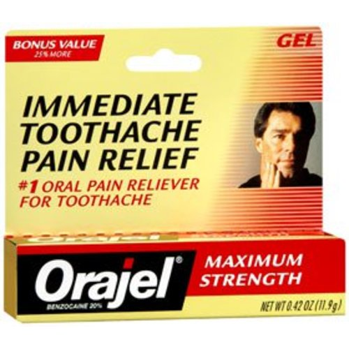 Orajel® Oral Pain Relief, 1/EA