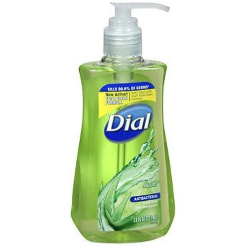 Dial® Antibacterial 7.5 oz. Pump Bottle Liquid Soap, 1/EA