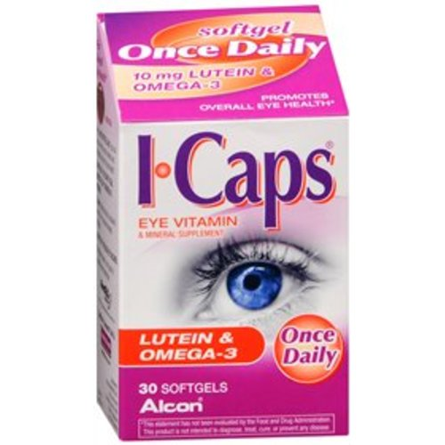 ICaps® Eye Vitamin and Mineral Supplement with Lutein, 1/BT