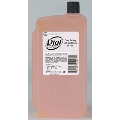 Dial® Shampoo and Body Wash 1 Liter Refill Bottle, 1/EA