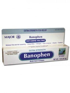 Major® Banophen™ Itch Relief, 1/EA