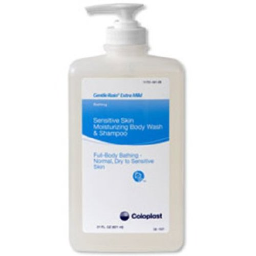 Coloplast Gentle Rain® Extra Mild Shampoo and Body Wash, 12/CS