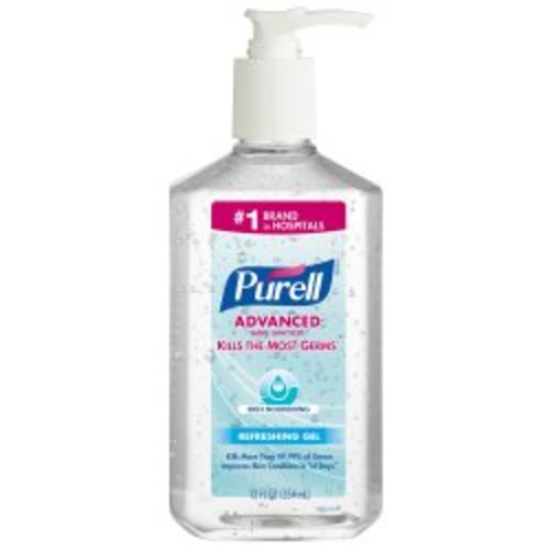 Purell® Gel Hand Sanitizer 12 oz. Pump Bottle, 12/CS